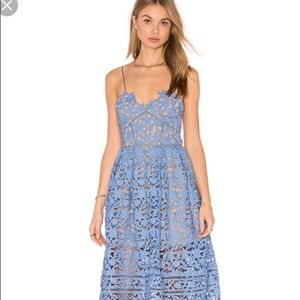 Self Portrait Dress Midi Dress Azalea